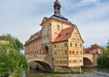 Altes Rathaus (town hall) at Bamberg, Germany