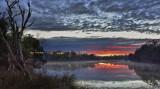 Serpentine River Winter Daybreak