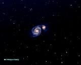 M51 Whirlpool Galaxy. 4/26/20
