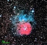M20, Trifid Nebula. 4/16/20