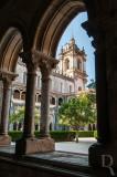 A Igreja Vista da Galeria do Capítulo