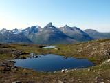 Trekking north of the Arctic Circle