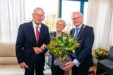 Echtpaar Van Kouwen-Goes 65 Jaar getrouwd