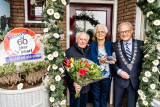 Echtpaar de Jong-den Hartog 60 Jr getrouwd