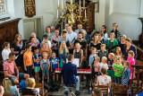 Paaszangdienst in Hervormde Kerk Everdingen