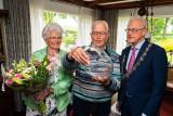 Echtpaar van Meeteren-De Jong 60 Jaar getrouwd