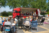 Pinksterdienst in de open lucht in Everdingen