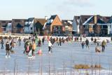 ijsfeest in het Nieuwe Hoef en Haag