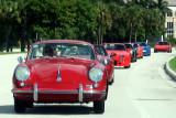 Porsche Parade in Boca Raton, 2019, Part 6 of 6: Procession of Porsches -- July 27