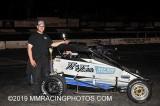 4-27-19 Stockton 99 Speedway: BCRA Midgets - BCRA Vintage - Gunslinger Sprint Cars
