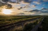 Sunset, Newcastle Coast view, WIcklow, Ireland