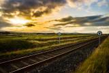 Sunset Newcastle Coast view, WIcklow, Ireland
