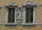 Haus zum Falken. Ett 10 år gammalt minne av vilka fantastiska dekorerade hus jag har sett i Tyskland