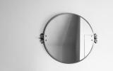 Spegel med former och ljus
