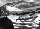 Face Nord du Mont-Perdu vue du refuge de Tuquerouye dans les années 1930
