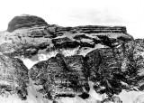 Brèche de Tuquerouye à l'aplomb du Cylindre (3328 m)