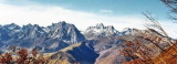 La massif de Lescun vu du Piton d'Anchet