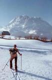 A ski sur le plateau de Lescun