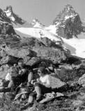 Popo et J. Lasserre au Grand Barbat