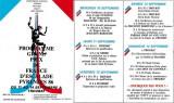 Programme des festivités à Troubat pour le Grand Prix de France d'escalade 1986
