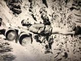 Hervé porteur au refuge du Tour près de Chamonix