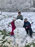10 janvier 2021 : neige à la Croix de Buzy !
