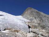 Front du glacier d'Ossoue et Petit Vignemale
