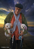John and 2 dogs 3-4-20 (2) 5X7 Sunset Collage w.jpg