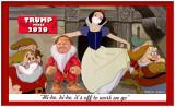 Trump 7 Dwarfs Snow White Hi Ho Hi Ho Frame w.jpg
