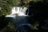 KRKA watervallen Kroatië