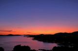 Kroatië zonsondergang.