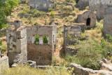 Ghost town, Kayakoy, Turkey