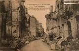 Rue Chavert apres le bombardement