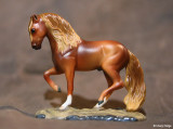 Breyer stablemate G2 porcelain Andalusian