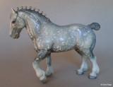 Breyer Clydesdale stallion mid 1980s