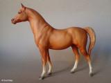 Breyer Proud Arabian mare - chestnut 1985