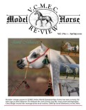 Jamil Mhuratt featuring on front cover of VCMEC Model Horse Re-View