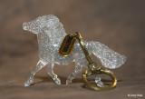 Breyer Stablemate G2 Shetland Pony keychain