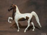 Breyer Little Bits Paddock Pal Saddle Club Saddlebred - chestnut pinto