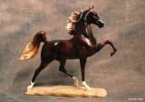Breyer Breeds of the World resin American Saddlebred