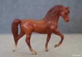 Breyer Stablemate G1 Morgan Stallion - red chestnut