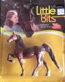 Breyer Little Bits Saddle Club Paddock Pals American Saddlebred - bay