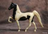 Breyer Little Bits Paddock Pal Saddle Club Saddlebred - black pinto
