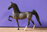 Breyer Little Bits Paddock Pal Saddle Club Saddlebred - dapple grey