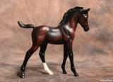 Breyer Classic Arabian foal - bay