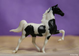 Breyer Stablemate G1 Saddlebred - pinto