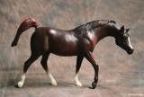 Breyer classic Sagr mold - dark chestnut