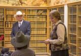 Senator Judy Warnick addressing the group