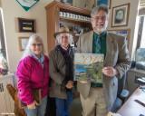 Sherri Wright and Joan Fleming with Representative Ed Orcutt