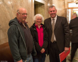 Tony and Joan meeting with Representative DeBolt